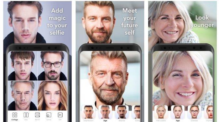 Cara Edit Foto Oplas Challenge Lewat Aplikasi FaceApp, Coba Yuk