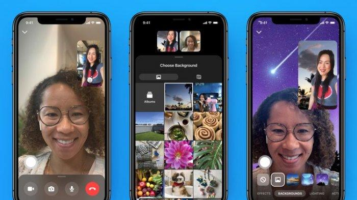 Aplikasi Facebook Messenger Rooms Mirip Seperti Zoom, Bisa Ganti Latar Belakang saat Video Call