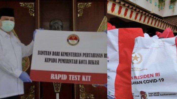Fadli Zon Kritik Logo Bantuan Presiden, Yunarto Wijaya Tunjukkan Foto Prabowo Saat Beri Bantuan