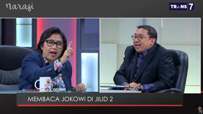Fadli Zon Dibentak Irma Suryani Saat Sebut Masyarakat Keberatan Iuran BPJS Naik : Lu yang Bicara
