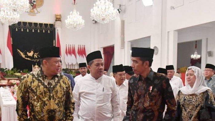 Ikut Bukber dengan Jokowi di Istana, Fahri Hamzah Ditanya : Kok Bapak Datang kan Sering Kritik ?