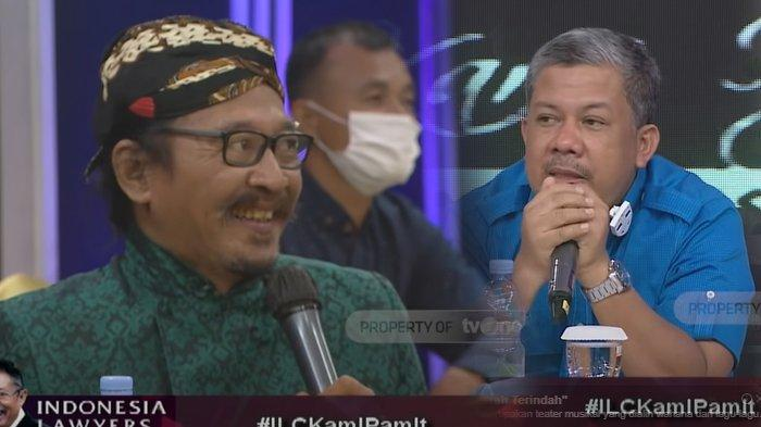 Tema ILC Pamit Episode Terakhir Dikomentari Sudjiwo Tedjo, Fahri Hamzah: Seperti Memberi Isyarat