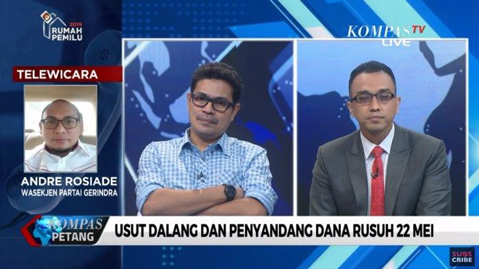Faizal Assegaf Sebut Akal Sehat Publik soal Dalang 22 Mei Mengarah ke Prabowo, Andre Rosiade Emosi