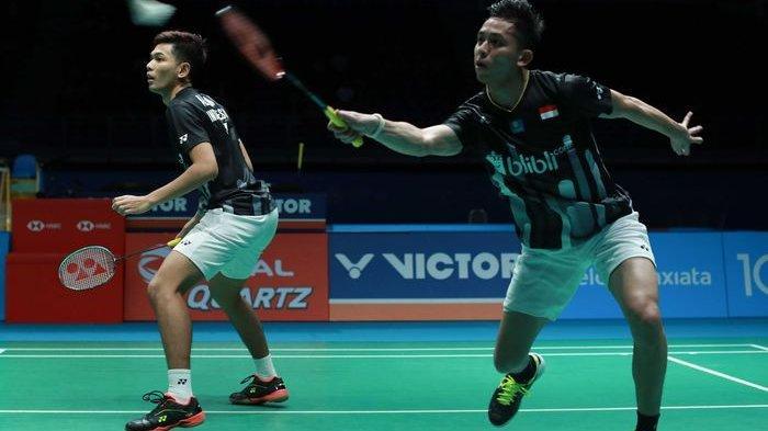 Hasil China Open 2019 - Marcus/Kevin Bakal Hadapi Fajar/Rian di Babak Semifinal