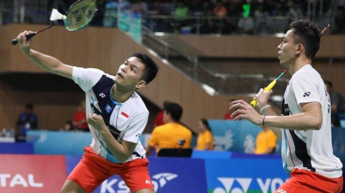 Hasil Final Korea Open 2019 - Fajar/Rian Raih Juara