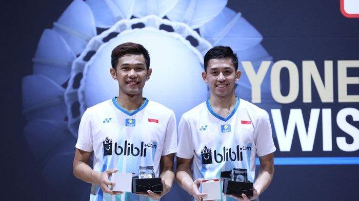 Malaysia Open 2019 - All Indonesia, Marcus/Kevin Dikalahkan Fajar/Rian