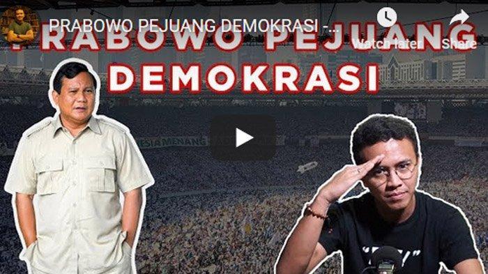 Faldo Maldini Respect Pada Prabowo Subianto : Kalau Dia Anti Demokrasi Udah Dibikin Ribut Semua