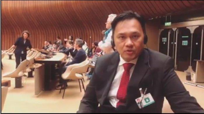 Farhat Abbas Pamer Tiba di PBB, Minta Jokowi dan Kapolri Kawal Kasus Elza Syarief