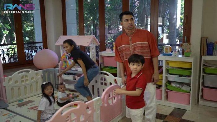Main ke Rumah Rp 75 Miliar Ruben Onsu, Raffi Kaget Dengar Alasan Thalia Ogah Main ke Rumah Rafathar