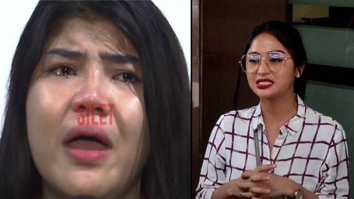 Disinggung Dewi Perssik Usai Jadi Tersangka, Rosa Meldianti Menangis : Enggak Mungkin Saingi Tante