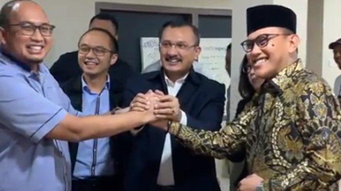 Celetukan di Video Serah Terima Ferdinand Hutahaean dari BPN ke TKN : dari Jokowi ke Jokowi