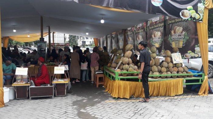 Diskon Harga di Festival Durian Botani Square Bogor, Tak Hanya Buah Ada Juga Olahannya