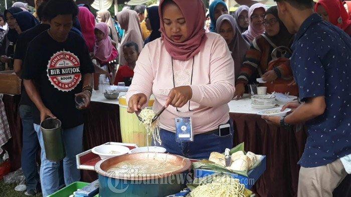 Ada 50 Stand Makanan di Festival Kuliner Legendaris Kota Bogor, Toge Goreng Paling Laris