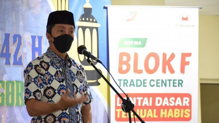 Wakil Wali Kota Bogor Dedie A Rachim Buka Festival Ramadan BKPRMI di Blok F