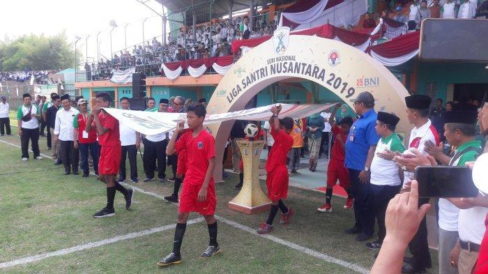 Liga Santri Nusantara 2019, Pesantren Diharapkan Bisa Berkontribusi dalam Dunia Olahraga Indonesia