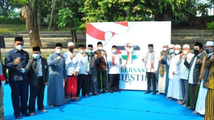 Forkompimda dan Tokoh Agama di Kota Bogor Mengutuk Agresi Israel Kepada Palestina
