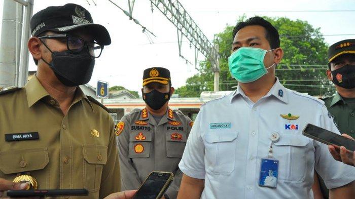 H-3 Jelang Larangan Mudik, Forkompinda Cek Situasi di Stasiun Bogor