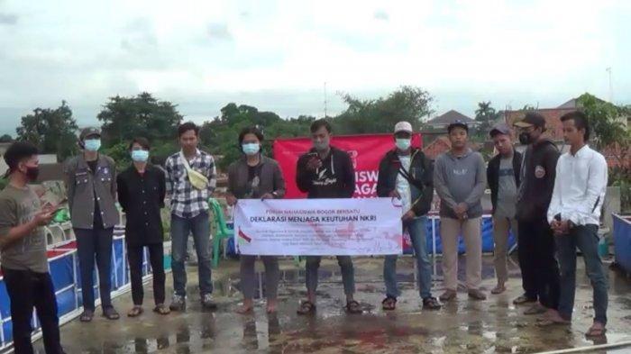 Forum Mahasiswa Bogor Bersatu Deklarasikan Diri untuk Jaga Keutuhan NKRI