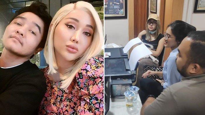 Foto-foto Lucinta Luna Ditangkap Polisi dan Positif Narkoba, Sang Kekasih, Abash Ikut Diciduk