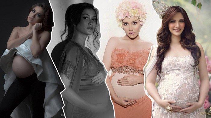 Foto Maternity 5 Artis Cantik Ini Bikin Gemas, Perut Buncit Tapi Tetap Terlihat Cantik dan Seksi
