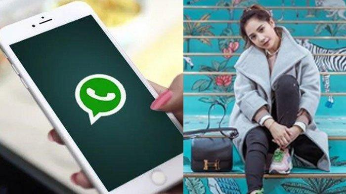 Foto Profil WhatsApp Nagita Slavina, Bukan Pajang Wajah Raffi Ahmad Apalagi Pose Narsis