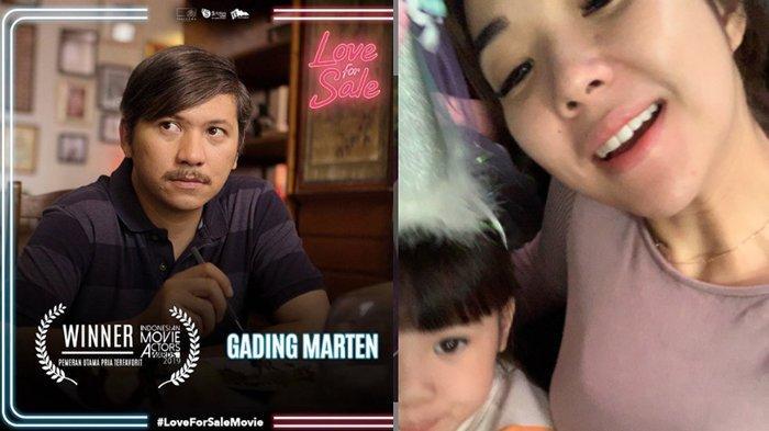 Gading Marten Pemeran Pria Utama Terfavorit di IMA Awards 2019, Gisel : Selamaaaaat Papa Gempi !