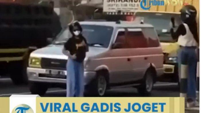 Viral Video Dua Remaja Putri Joget Ala TikTok di Zebra Cross, Kini Berurusan dengan Polisi