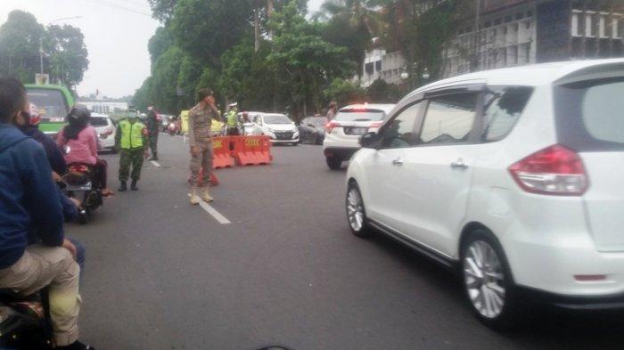 Imbas Penerapan Ganji Genap Seputar SSA, Macet di Pinggiran Kota Bogor