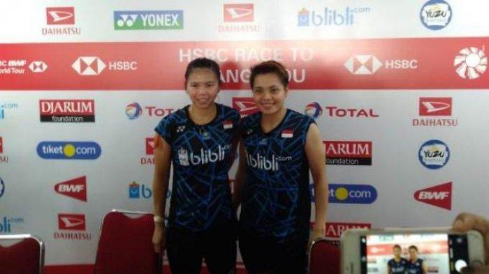 Hasil Thailand Open - Greysia/Apriyani Melaju ke Semifinal Usai Taklukan Wakil Malaysia