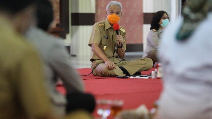 Bahas UU Cipta Kerja, Ganjar Pranowo Kumpulkan Rektor, Buruh dan Mahasiswa di Jateng