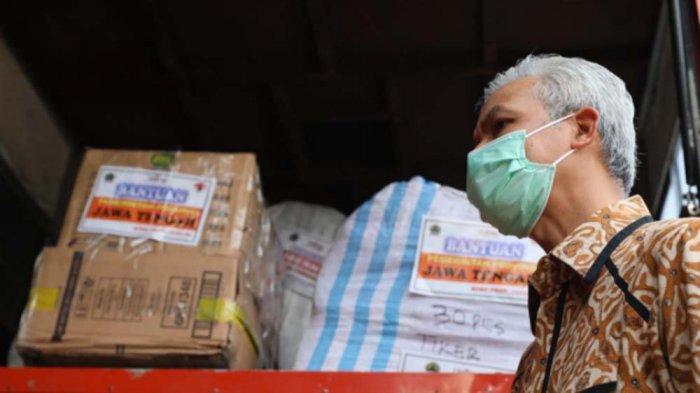 Dinyinyiri Karena Bantu Korban Gempa di Sulbar, Ganjar Pranowo Beri Respon Tegas : Sengkuyung Bareng