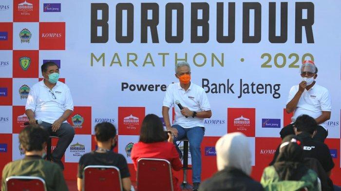 Pandemi Covid-19, Borobudur Marathon 2020 Digelar dengan Konsep Berbeda