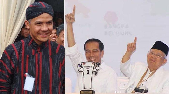 Ganjar Pranowo Ucapkan Selamat ke Jokowi-Maruf Amin : Ini Tugas Berat, Kami Siap Mendukung