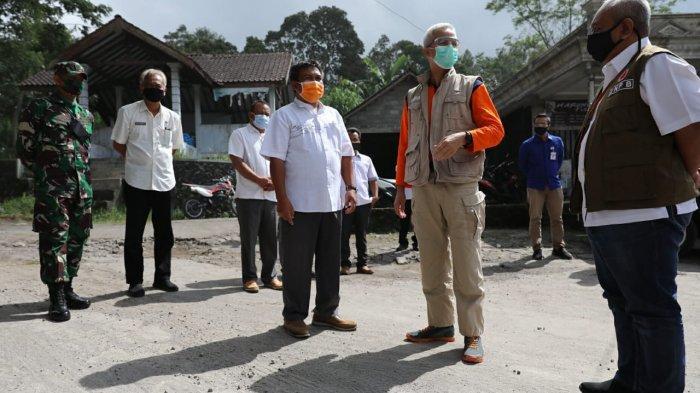 Bangun Jalur Evakuasi Gunung Merapi, Ganjar Gelontorkan Rp 14 Miliar