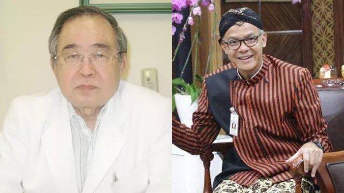 Viral karena Semangat Tangani Corona, dr Handoko Cerita ke Ganjar Pranowo : Situasinya Buruk Sekali