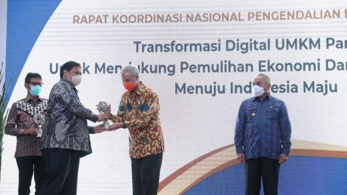 Mampu Mengatasi Inflasi, Pemprov Jateng Raih Penghargaan TPID