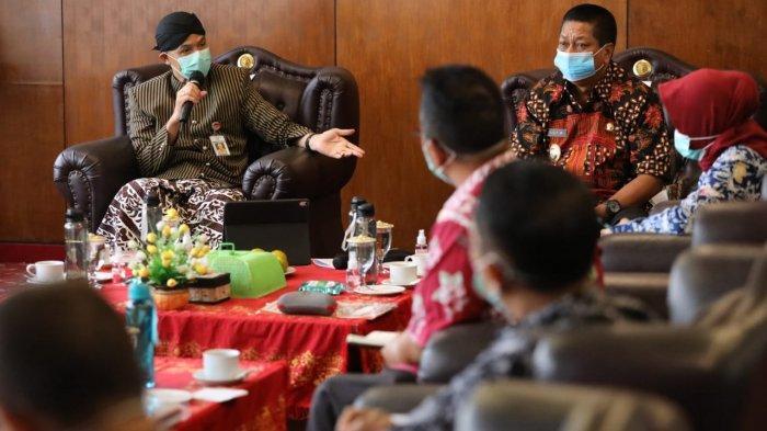 Gubernur Ganjar Pranowo Imbau Kepala Daerah di Jateng Segera Membelanjakan APBD