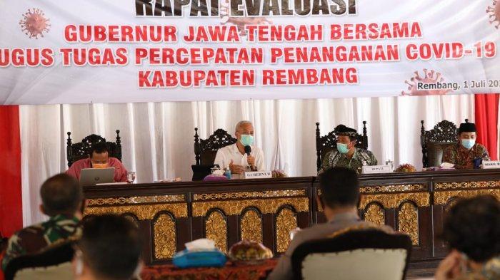 11 Kabupaten Kota di Jateng Butuh Perhatian Serius Covid-19, Ganjar Bentuk Satkorwil
