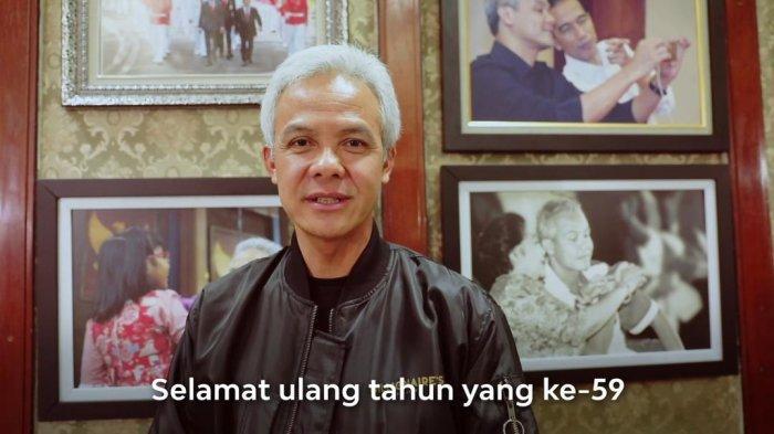 Presiden Jokowi Ulang Tahun, Ganjar Pranowo: Tetap Sehat dan Kuat Pak, Meski sedang Mendapat Ujian