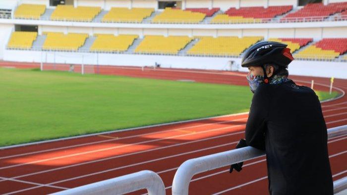 Terhenti Akibat Covid-19, Ganjar Pranowo Yakin Pembangunan Stadion Jatidiri Selesai Tepat Waktu