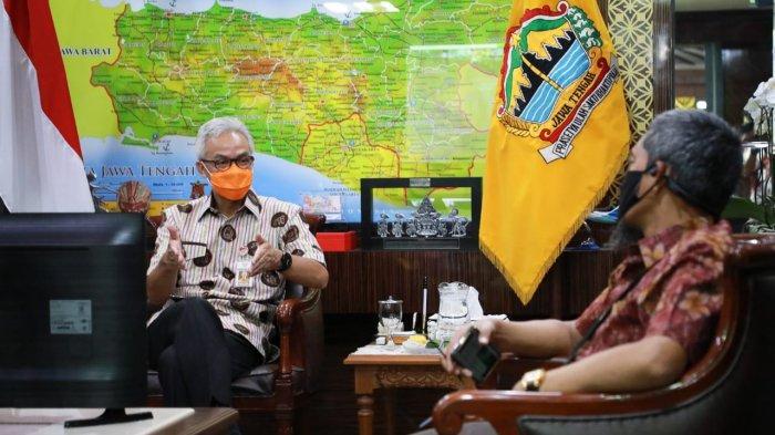 Laporan Keuangan Dinilai Baik, Gubernur Ganjar Minta WTP Jangan Dinodai oleh Korupsi