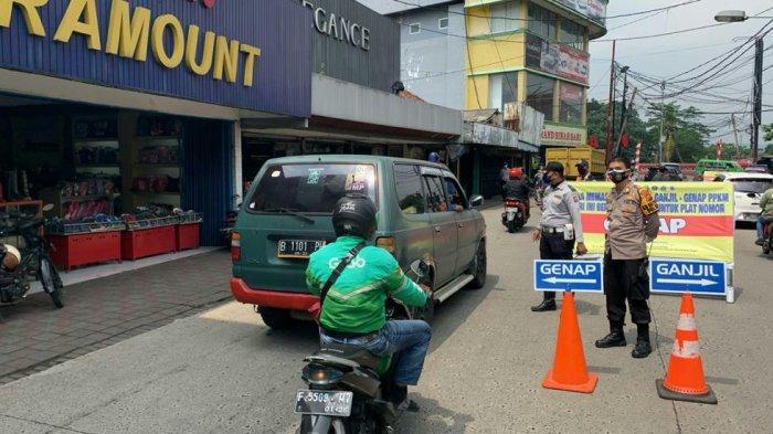 Sebanyak 6.610 Kendaraan Diputar Balik Ganjil Genap di Kota Bogor, Didominasi Motor