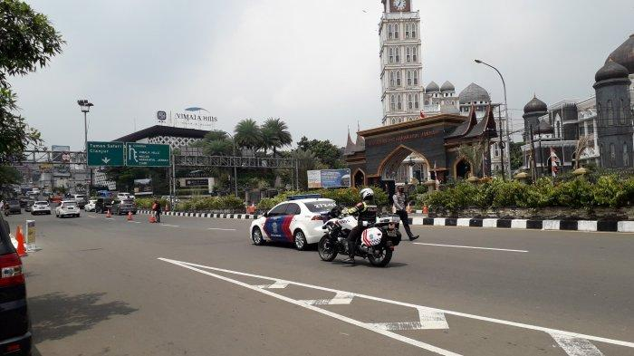 Ganjil Genap Hari Ketiga di Puncak Bogor, Polisi Berlakukan Sistem Satu Arah