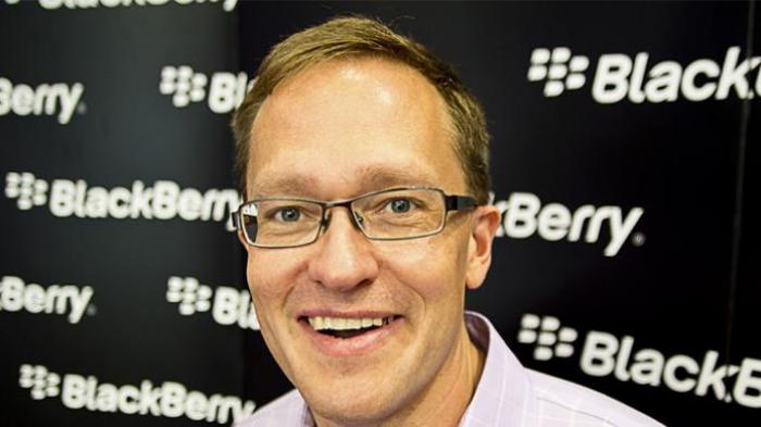 Garry Klassen Pembuat BBM Tinggalkan BlackBerry