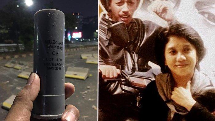 Viral Foto Gas Air Mata Kedaluwarsa di Depan Gedung DPR, Istri Munir Ungkap Bahayanya: Bisa Kebutaan