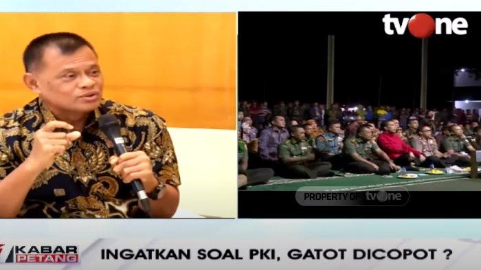 Awal Mula Heboh Pergantian Panglima TNI Dikaitkan Film G30S/PKI, Gatot Nurmantyo : Persepsi Publik