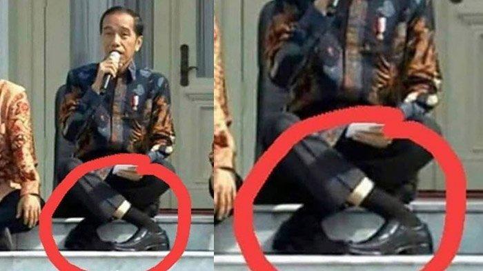 JokowiChallenge Ramai di Medsos, Anjasmara hingga Nirina Zubir Coba Tirukan Gaya Duduk Jokowi