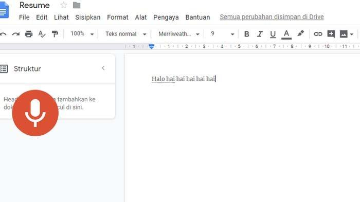 Viral Menulis di Google Docs Tanpa Ngetik, Begini Caranya