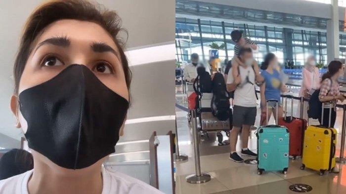 Ngamuk di Bandara Gara-gara Dilarang Terbang, Gebby Vesta Heran Diminta Ini : Gak Berlaku buat WNA