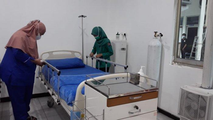 RSUD Kota Bogor Over Capasity Pasien Covid-19, Operasional Gedung Rumah Sakit Lapangan Dipercepat